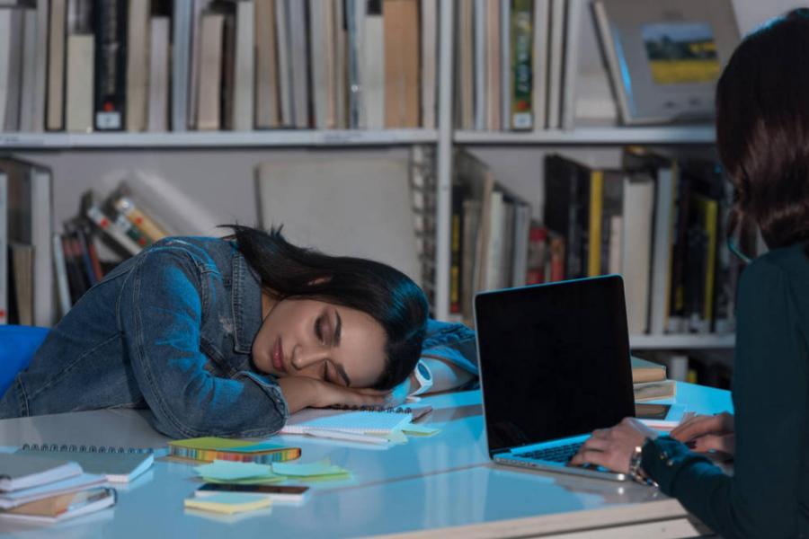 dormir bien la noche antes de un examen